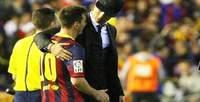 Copa del Rey: Cristiano Ronaldo consoló a Lionel Messi al final del partido